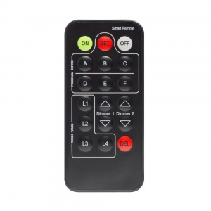 Boutique Remote Control for lighting